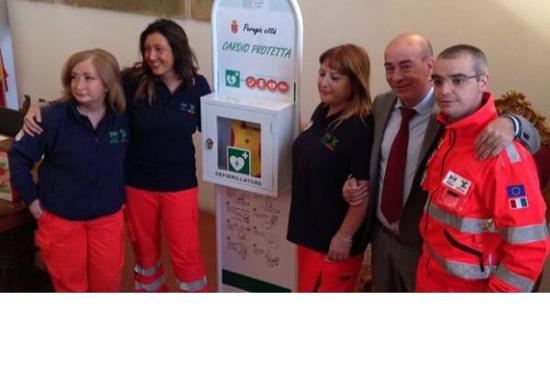 Perugia CIttà Cardio Protetta, Città Cardio Protetta, Defibrillatore in città, Defibrillatore in centro, Defibrillatore in piazza, Defibrillatori in città